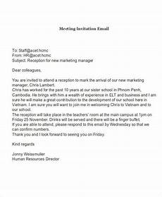 Sample Invitation For A Meeting By Email Free 13 Invitation Email Examples Amp Samples In Publisher