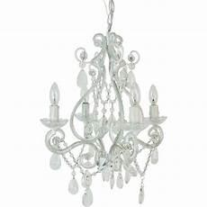 Ikea Kristaller Light Bulbs Tadpoles 4 Light White Mini Chandelier Cchapl410 The