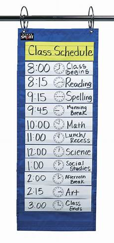 Long Pocket Chart School Smart Pocket Chart For Classroom 12 1 2 X 33