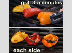 The 99 Cent Chef: Grilled Bell Peppers   Video Recipe