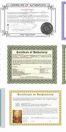 Make A Certificate Of Authenticity 1000 Images About Certified On Pinterest Gift