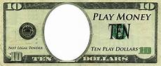 Money Template For Word Play Money Template Play Money Templates Free