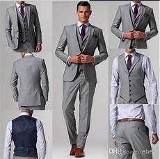 Best Shoes For Light Grey Suit Light Grey Groom Tuxedos Suits Custom Wedding Groom Wear