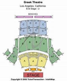 Greek Theater Chart Greek Theatre Ca Tickets And Greek Theatre Ca Seating