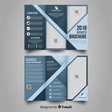 3 Column Brochure Business Trifold Brochure Vector Free Download