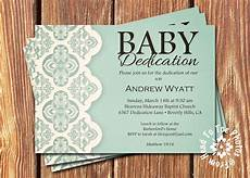 Baby Dedication Invitation Templates Baby Dedication Invitations By Fromheadtotoedesigns On Etsy