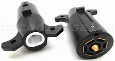 Trailer Light Plug Replacement 7 Way Round Rv Style Trailer Light Plug Connector