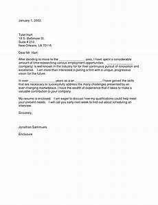 Cover Letter Example For Relocation Relocation Resume Example Salescv Info
