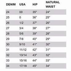 Women S Jean Size Conversion Chart Women Miss Me Jean Size Chart On Poshmark