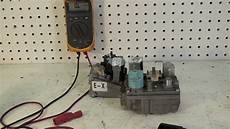 How To Light A Luxaire Furnace How To Test The Gas Valve On A Gas Furnace With An