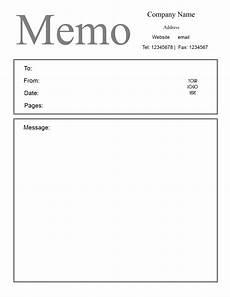 Memo Template Free Microsoft Word Memo Template