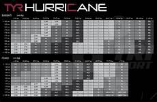 Tyr Hurricane Wetsuit Size Chart Costum Neopren Hurricane Tyr Cat 1