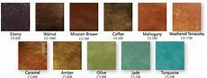 Stained Concrete Colors Chart Best Concrete Stain Reviews And Buyer S Guide