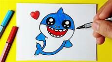 como desenhar peixe tubar 195 o fofo kawaii desenhos bonitos