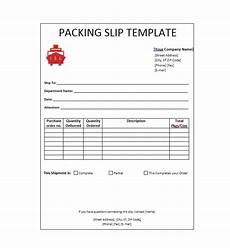 Packing Slip Number 30 Free Packing Slip Templates Word Excel