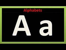Letter And English Alphabets For Kids Small Amp Capital Letters Youtube
