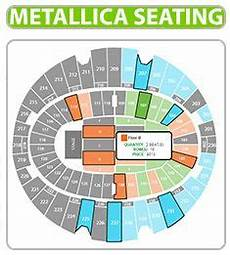 Metallica Philadelphia Seating Chart Metallica Seating Chart The Forum