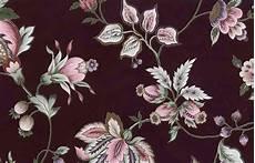 Flower Wallpaper Metallic by Maroon Floral Vintage Wallpaper Pink Green Gold