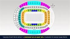 Broncos Tickets Seating Chart Denver Broncos Season Tickets