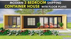 amazing shipping container 3 bedroom house design with