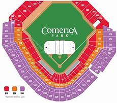 Detroit Tigers Seating Chart Detroit Tigers In 2020 Seating Charts Detroit Blue Seating