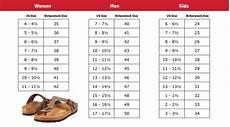 Birkenstock Size Chart In Cm Where To Buy Birkenstocks In Canada