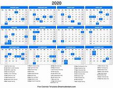Images Of 2020 Calendar 2020 Calendar