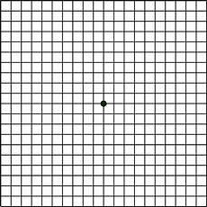 Amd Eye Chart Macular Degeneration And The Amsler Grid Eye Center Of Texas