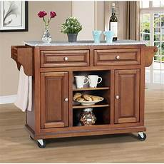 kitchen islands with granite tops wildon home 174 kitchen island with granite top reviews