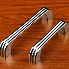8pcs 128mm chrome modern cabinet kitchen drawer handles