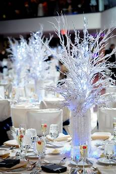 winter theme centerpiece winter wedding winter