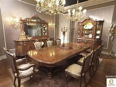 classic luxury dining room solid wood table idfdesign