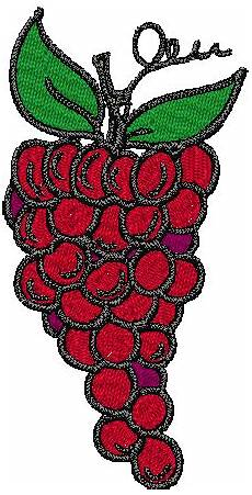 grapes bernina embroidery designs free
