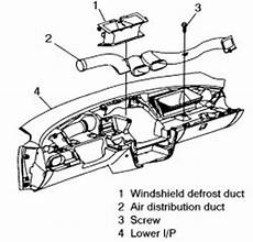 How Do U Install A Heater Core For A 1997 Chevy Cavalier