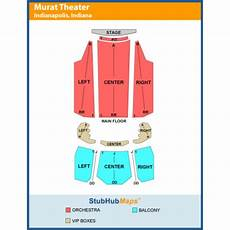 Murat Theater Seating Chart The Murat Theatre At Old National Centre Events And