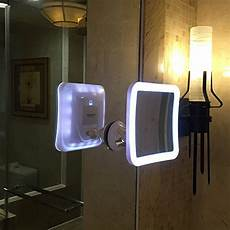 Vanity Mirror With Lights Battery Charmax 7x Magnifying Lighted Makeup Mirror With Bag