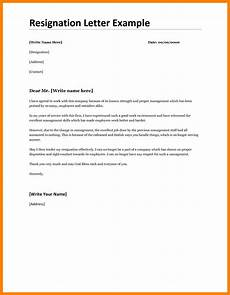 Best Letters Of Resignation 8 Good Resignation Letters Examples Resignition Letter