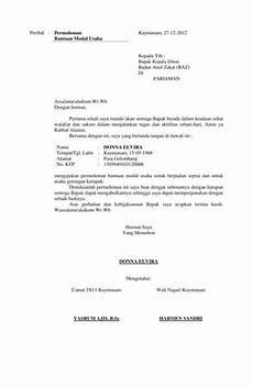 10 contoh surat permohonan bantuan dana izin kerjasama dll