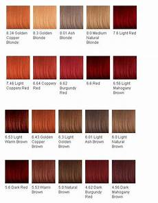 Reed Hair Color Chart Hair Color Chart Might Dye My Hair The Burgundy Red