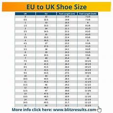 Uk And Eu Shoe Size Chart ᐅ Eu To Uk Shoe Size Conversion Charts For Women Men Amp Kids