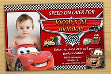 Cars Birthday Invites Disney Cars Birthday Invitation Disney Cars Invitation Cars