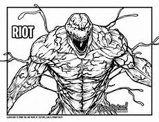 Easy Venom Coloring Pages How To Draw Riot Venom Drawing Tutorial Draw It