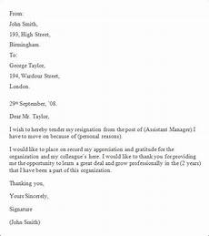 How To Write A Professional Resignation Letter Free 7 Professional Resignation Letter Templates In Pdf