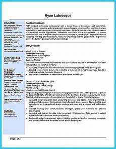 Business Resume Cover Letter Make The Most Magnificent Business Manager Resume For