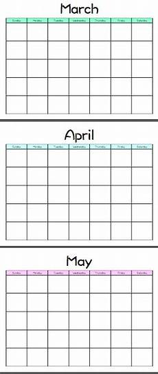 Printable Customized Calendars Customizable Blank Calendar Template Mixed Colors