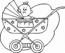 ausmalbilder baby kinderwagen ausmalbilder