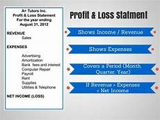 Profit And Loss Statements For Dummies Profit And Loss Statement Understanding Infographic