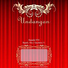 template undangan pernikahan cdr file gratis download