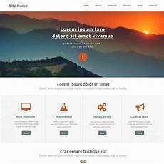 Php Site Template Top Ten Newest Free Website Template