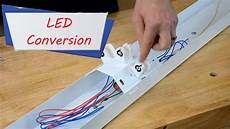 How To Rewire A Fluorescent Light How To Easily Convert Fluorescent Lights To Led Easy Ways